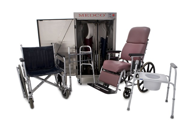 Medco Model 64X Will sanitize all of your medical durable equipment